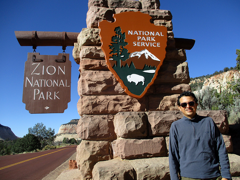 Hector in Zion National Park
