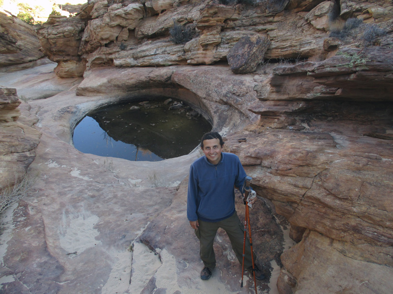 Hector at The Tanks in Capitol Reef National Park