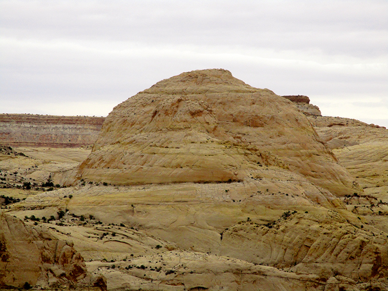 Capitol Dome at Capitol Reef National Park