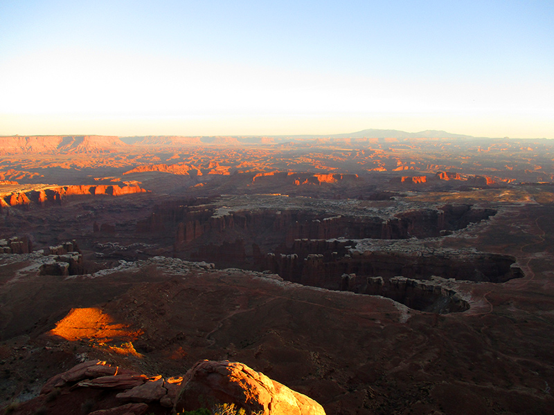 View from Canyonlands National Park's Grand View Point