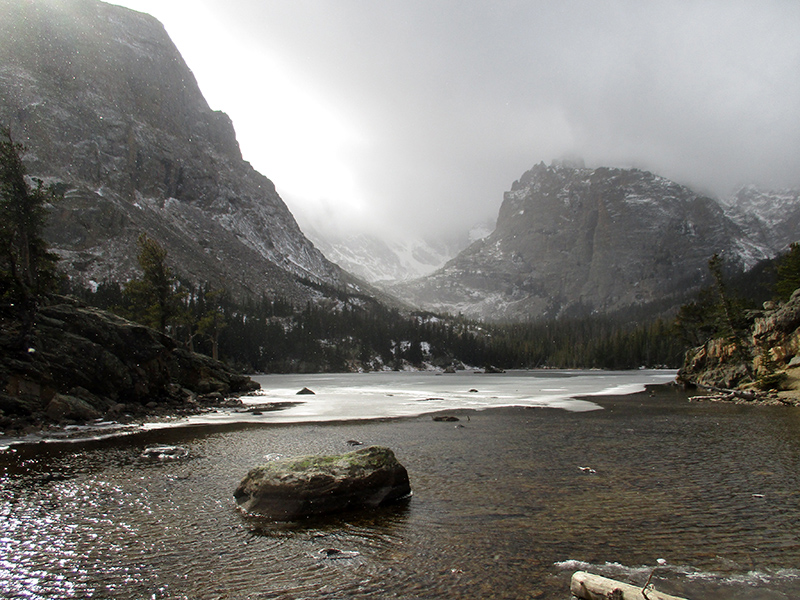 The Loch in Rocky Mountain National Park