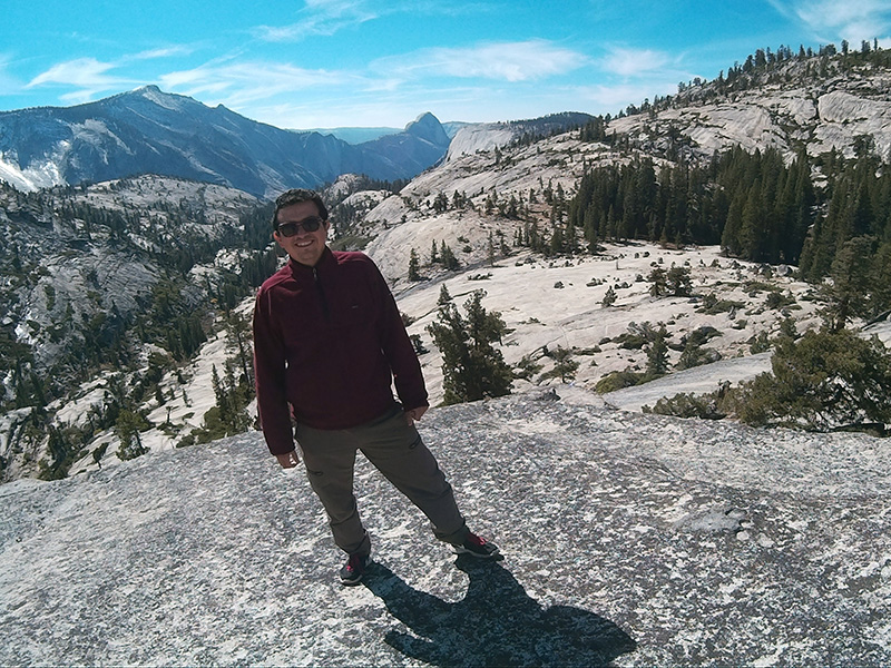 Hector at Yosemite's Olmsted Point