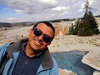 Hector in Yellowstone National Park