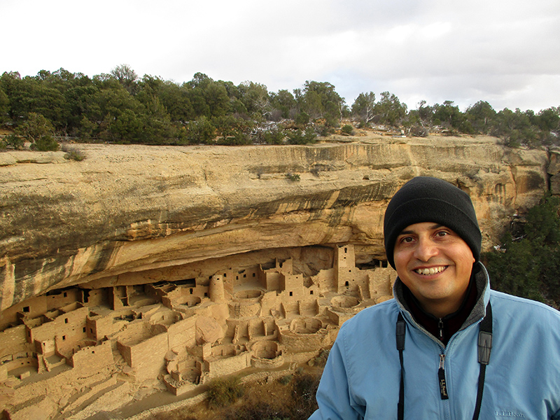 Hector at Mesa Verde National Park