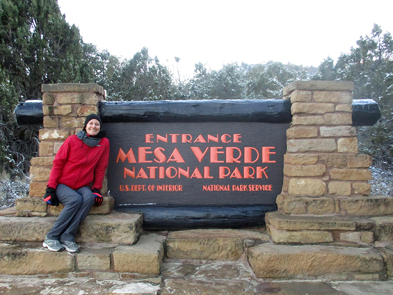 Christi at Mesa Verde National Park