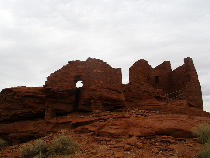 Wukoki Pueblo site at Wupatki National Monument