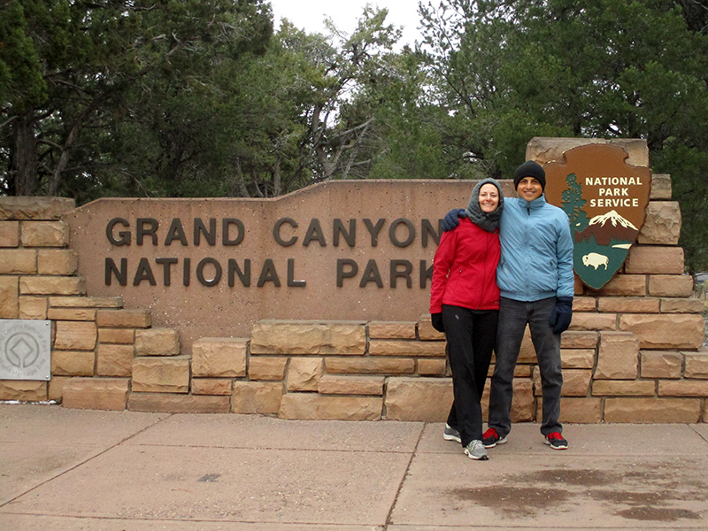 Christi & Hector at Grand Canyon National Park