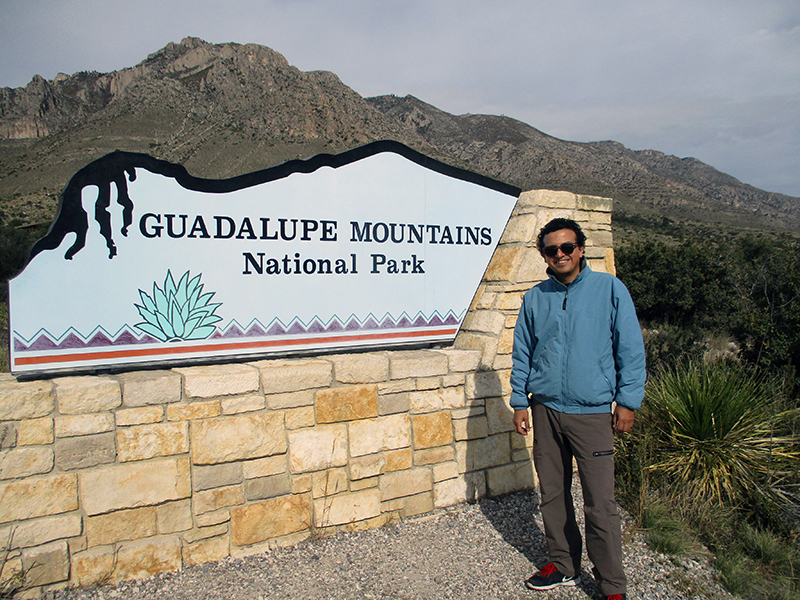 Hector in Guadalupe Mountains National Park