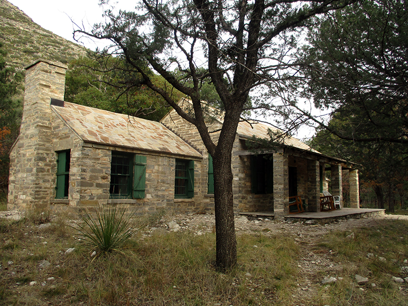 Pratt Cabin at Guadalupe Mountains National Park