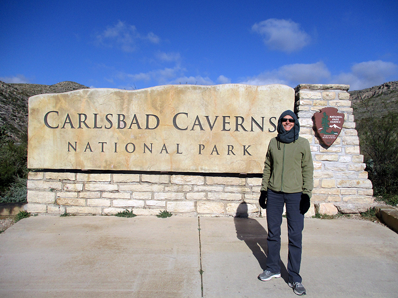 Christi at Carlsbad Caverns National Park
