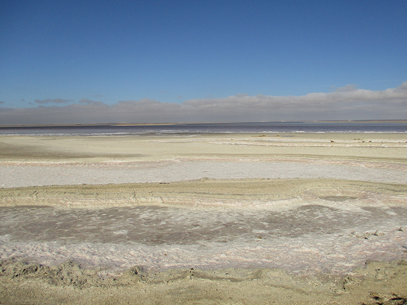 Salina Guerrero Negro salt flats