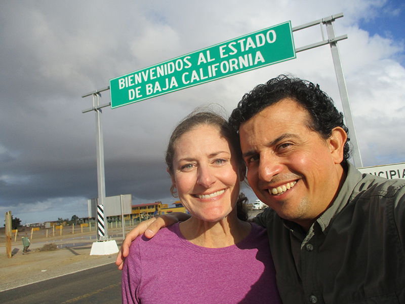 Christi & Hector in Baja California