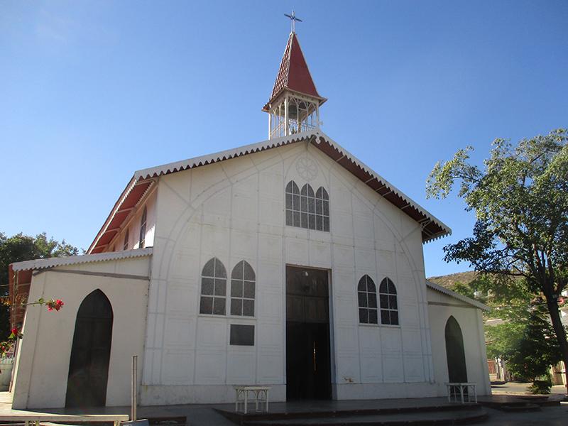 Iglesia Santa Barbara in Santa Rosalía