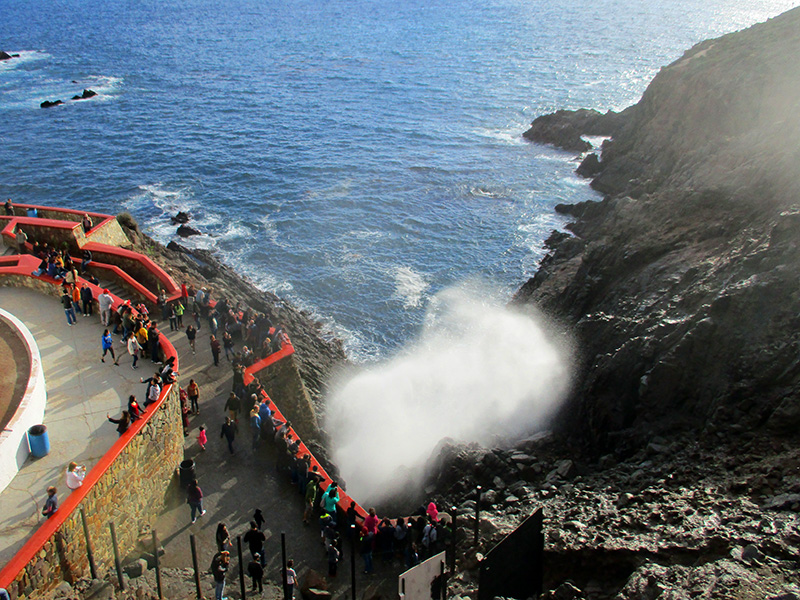 La Bufadora blowhole near Ensenada