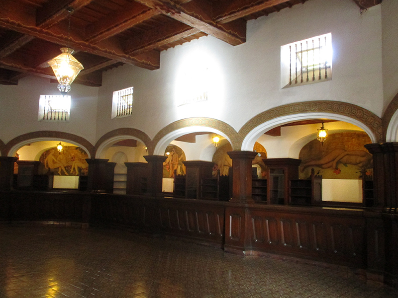 Historic casino in Ensenada's Hotel Riviera del Pacífico