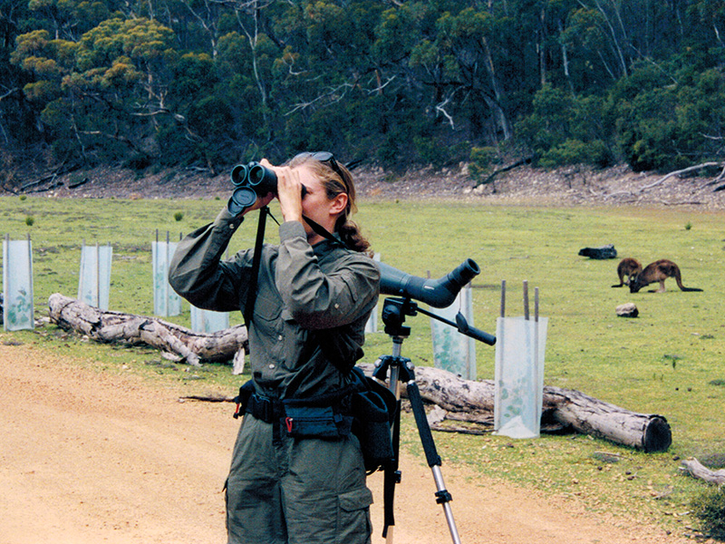 Christi birding on Kangaroo Island