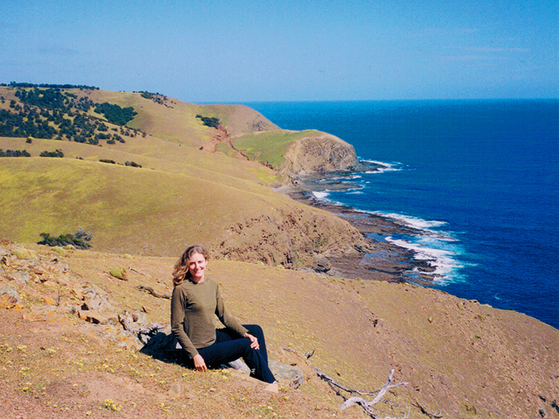 Christi on Kangaroo Island