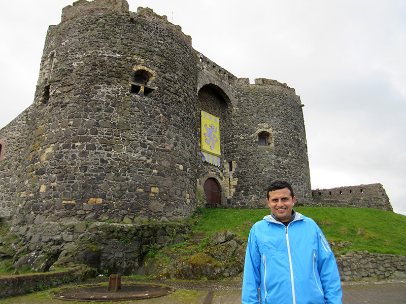 Hector at Carrickfergus Castle