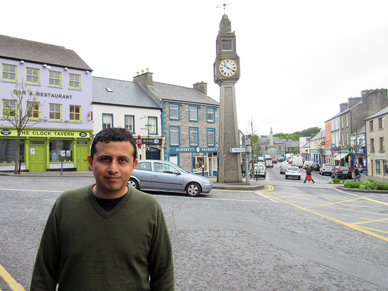 Hector in Westport, Ireland