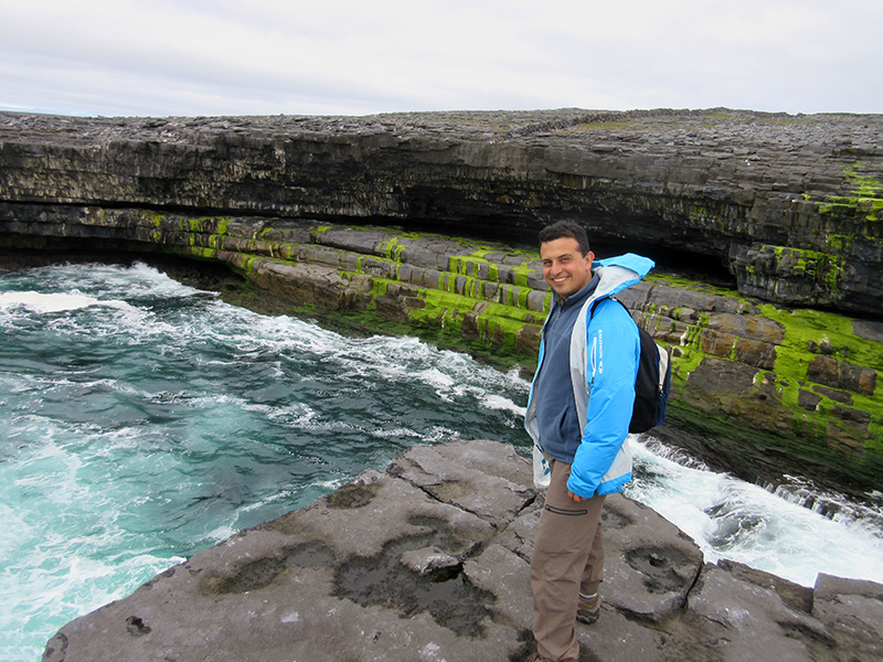 Hector on the southeast coast of Inishmore