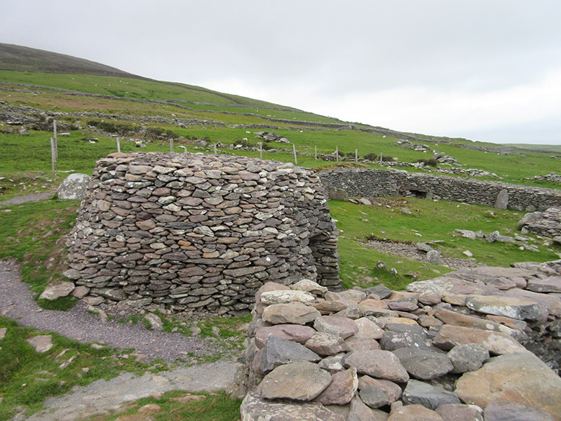 Beehive huts on the Dingle Peninsula