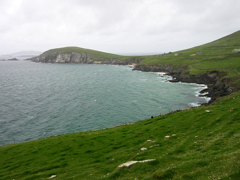 Coastline on County Kerry's Dingle Peninsula