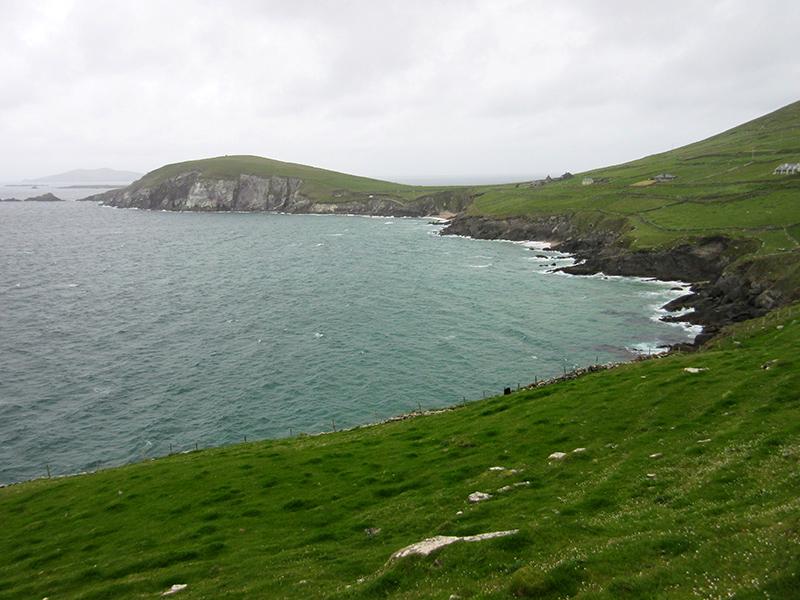 Coastline on County Kerry's Dingle Peninsula
