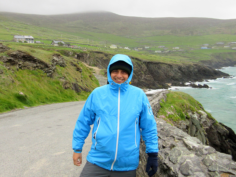 Hector on County Kerry's Dingle Peninsula