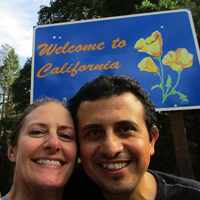 Christi & Hector in California