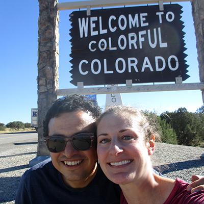 Hector & Christi in Colorado