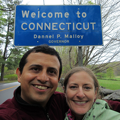 Hector & Christi in Connecticut