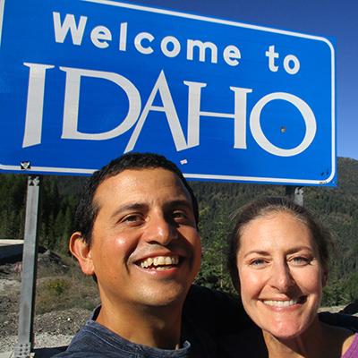 Hector & Christi in Idaho
