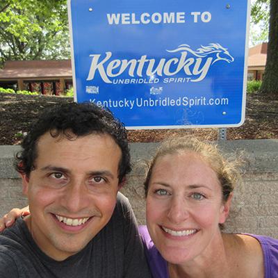Hector & Christi in Kentucky