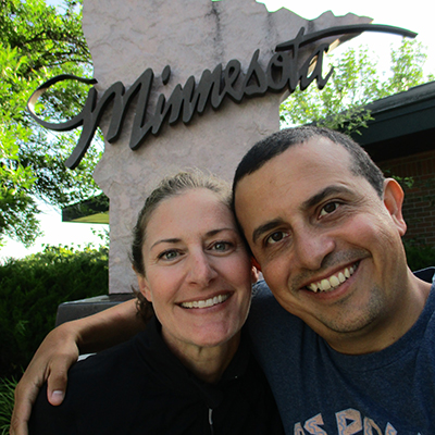 Christi & Hector in Minnesota