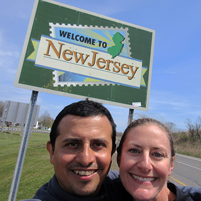 Hector & Christi in New Jersey