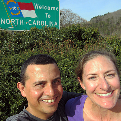Hector & Christi in North Carolina
