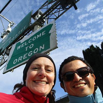 Christi & Hector in Oregon