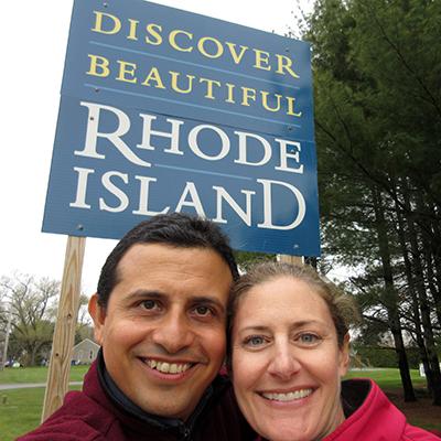 Hector & Christi in Rhode Island
