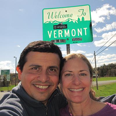 Hector & Christi in Vermont