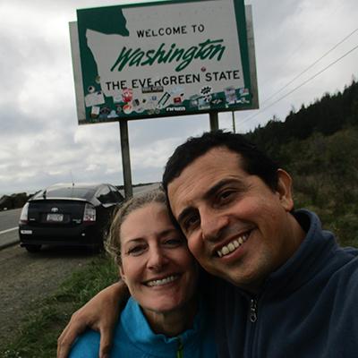 Christi & Hector in Washington