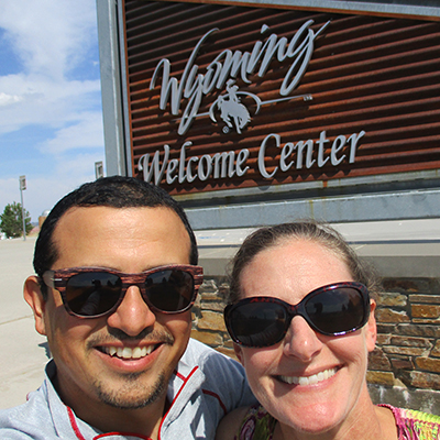 Hector & Christi in Wyoming