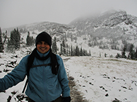 Hector in Glacier National Park