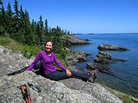 Christi in Isle Royale National Park