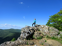 Christi in Shenandoah National Park