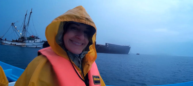 Seeking Gray Whales in Guerrero Negro